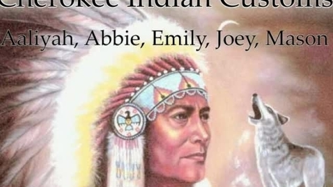Thumbnail for entry Cherokee Indian Customs