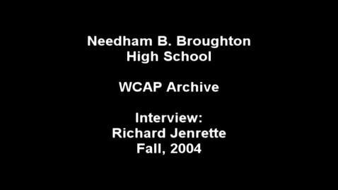 Thumbnail for entry Richard Jenrette 2004.mpg