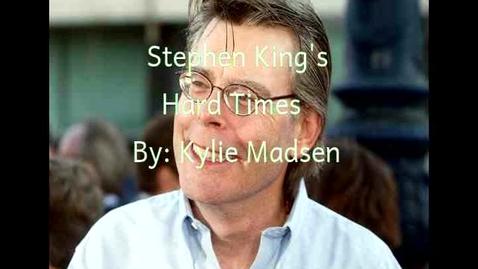 Thumbnail for entry Stephen King