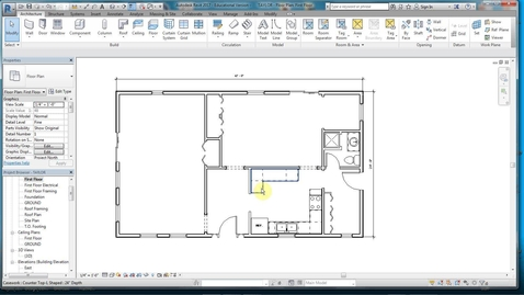 Thumbnail for entry REVIT 5- FLOORING