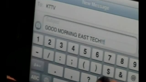 Thumbnail for entry 04-01-11 Good Morning East Tech Friday Edition