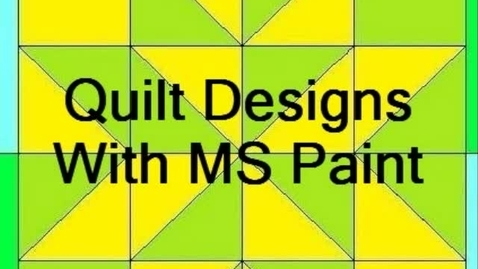 Thumbnail for entry Quilt Design 2011