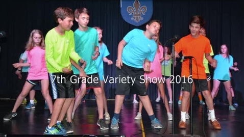 Thumbnail for entry 7th Grade Variety Show