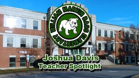 Thumbnail for entry William Marvin Bass Elementary School: Joshua Davis Teacher Spotlight Documentary