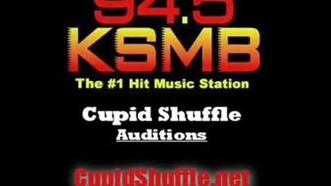 Thumbnail for entry Cupid Shuffle Audition - Group 11
