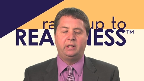 Thumbnail for entry Ramp Up to Readiness Outcomes