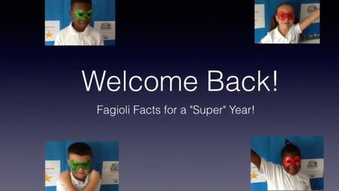 Thumbnail for entry Back to School Night 2015