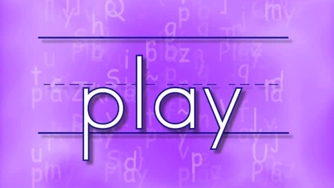 Thumbnail for entry Kindergarten Sight Word - Play song