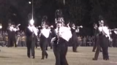Thumbnail for entry Band Colorguard Dance Team at WHS
