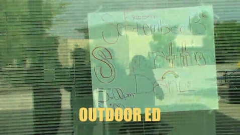 Thumbnail for entry Why Outdoor ED is worth going!