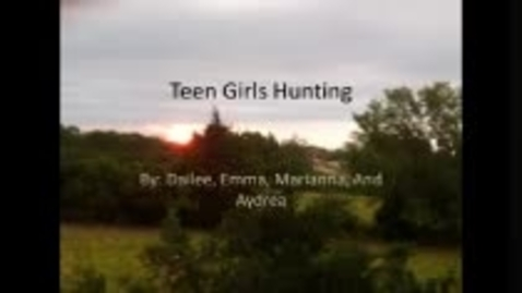 Thumbnail for entry Girls Hunting