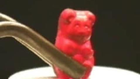 Thumbnail for entry Gummy Bear Reaction