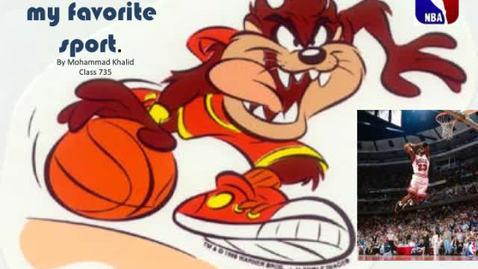 Thumbnail for entry Favorite Sport