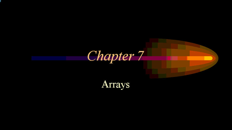 Thumbnail for entry Arrays