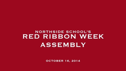 Thumbnail for entry Red Ribbon Assembly 2014