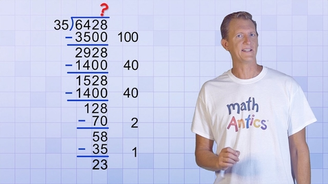 Thumbnail for entry Math Antics - Division With Partial Quotients