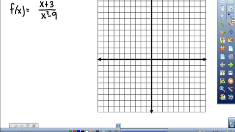 Thumbnail for entry Graphing Rational functions and 2 systems with quadratics
