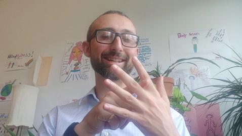 Thumbnail for entry 5 Finger Breathing (emergency mindfulness)