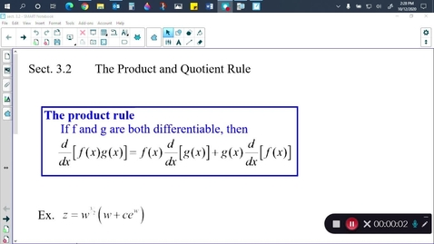 Thumbnail for entry Calc Sect. 3.2
