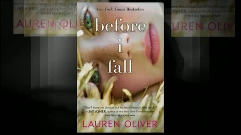 Thumbnail for entry BEFORE I FALL, by Lauren Oliver