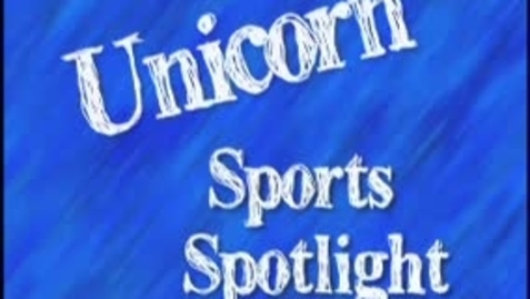 Thumbnail for entry Sports Spotlight of the week 2010 - Jericho Gomez