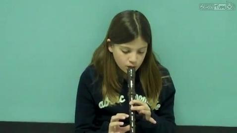 Thumbnail for entry Kourtney Kokes, recorder solo, 2011, Dabbs Elementary