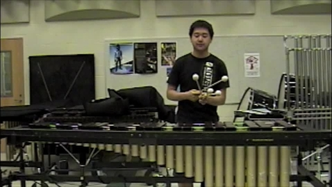 Thumbnail for entry Michael Zhu All-American Marching Band Audition