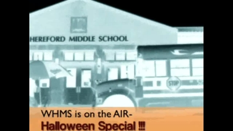 Thumbnail for entry 10-31-12 WHMS Morning News