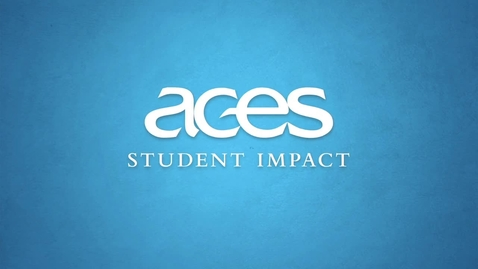 Thumbnail for entry ACES Student Impact:  My ACES Experience