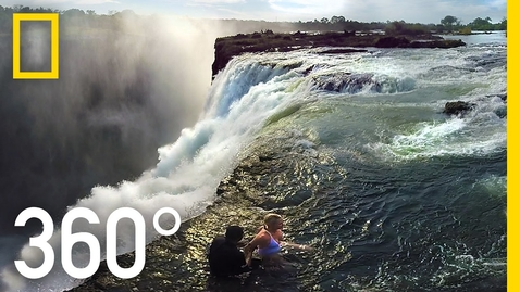 Thumbnail for entry 360° Victoria Falls – The Devil's Pool | National Geographic