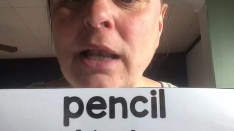 Thumbnail for entry 4.22.20-Spanish word of the day-pencil