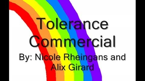 Thumbnail for entry Tolerance Commercial