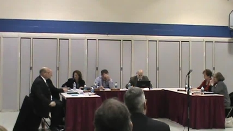 Thumbnail for entry BOE Meeting, March 2, Part 1