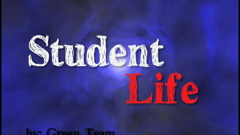 Thumbnail for entry Student Life Green Team