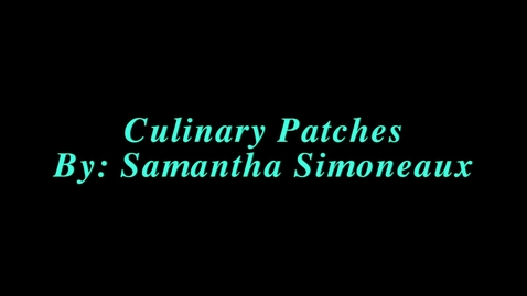 Thumbnail for entry Culinary Arts Badges Presentation