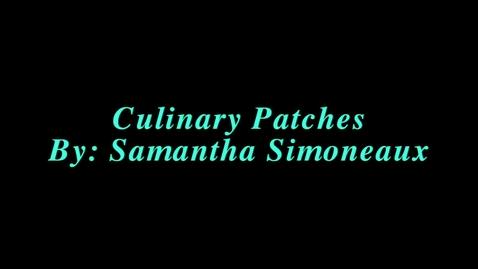 Thumbnail for entry Culinary Arts Badges Presentation