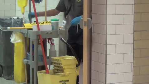 """Thumbnail for entry StuCo steps up during Custodian Appreciation Week to say """"Thanks!"""""""
