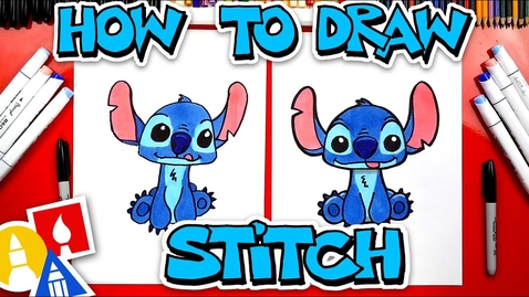 Thumbnail for entry How To Draw Stitch From Lilo And Stitch