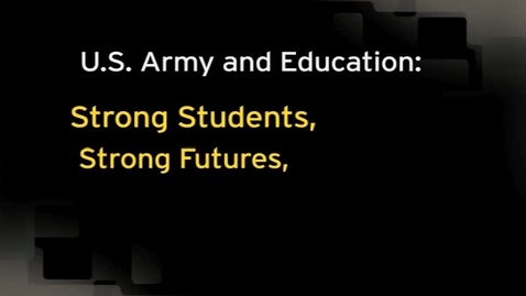 Thumbnail for entry Army Education Podcast - Education Partners