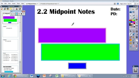 Thumbnail for entry 2.2 Midpoint Notes