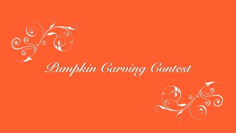 Thumbnail for entry Pumpkin Carving Contest