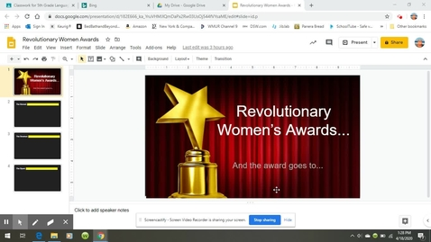 Thumbnail for entry Revolutionary Women- Kids Discover Directions