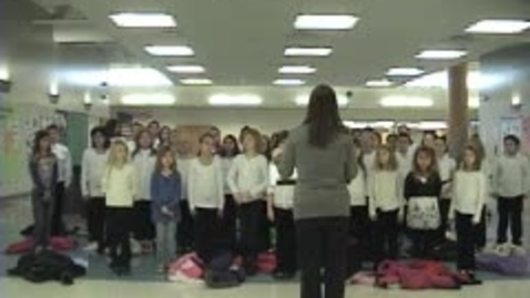 Thumbnail for entry Choir Winter Holiday Concert