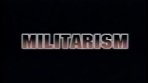 Thumbnail for entry Militarism -Cause of WW1