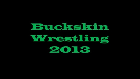 Thumbnail for entry 2013 Wrestling Introductions