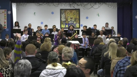 Thumbnail for entry Lincoln Hancock Elementary Holiday Concert 2019