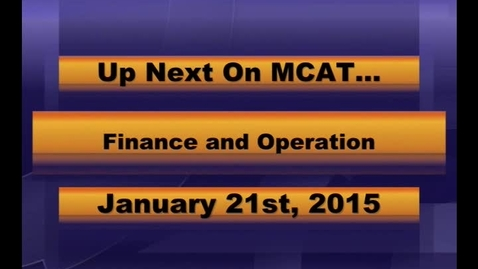 Thumbnail for entry MCPS Finance & Operations Meeting Jan 21 2015