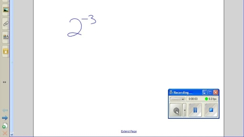 Thumbnail for entry Negative exponents example 1