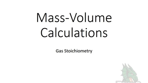 Thumbnail for entry Mass-Volume Calculation