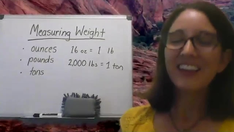 Thumbnail for entry Measuring Weight to the Nearest Pound